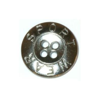 Knoop 15 mm metaal - sport