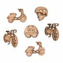 knoop 25 - 30 mm vervoer (6 stuks)