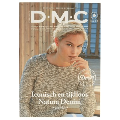 DMC magazine no 2 Natura denim - dames
