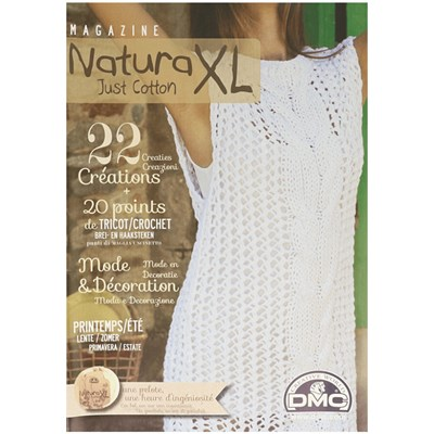 DMC magazine Natura Just Cotton XL - Dames en Interieur lente zomer