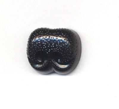 Neus 23 mm zwart 5 stuks