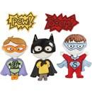 Knoop superhelden (5 stuks)