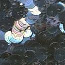 Pailletten 6 mm - grijs