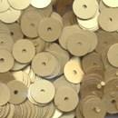 Pailletten 6 mm - goud