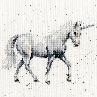Borduurpakket dieren - Believe in Magic