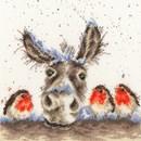 Borduurpakket dieren - Christmas Donkey - Bothy Treads