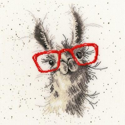 Borduurpakket dieren - No cause for A-llama - Bothy Treads