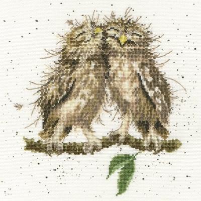 Borduurpakket vogel - Birds of a Feather