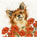 Borduurpakket dieren - Poppy Field