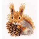 Borduurpakket dieren - Squirrel 0-173