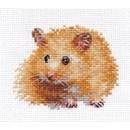 Borduurpakket dieren - Hamster 0-174