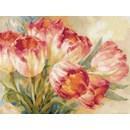 Borduurpakket bloemen Tulips