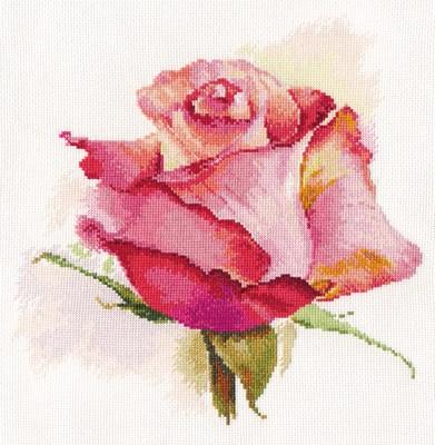 Borduurpakket bloemen The breath of rose Charm AL02039 OP=OP