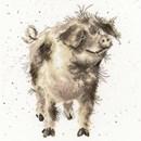 Borduurpakket dieren - Truffles and Trotters