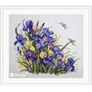 Borduurpakket bloemen Irises