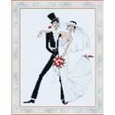 Borduurpakket Love - Wedding Tango