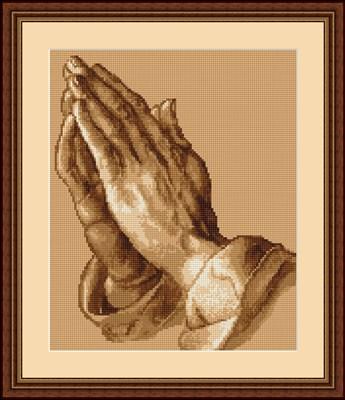 Borduurpakket Praying hands