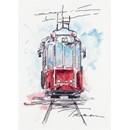 Borduurpakket tram