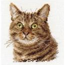 Borduurpakket dieren - European cat 0-135
