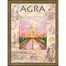 Borduurpakket landen - Agra