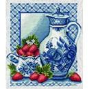 Borduurpakket Stawberries and cream