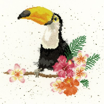 Borduurpakket dieren- toucan of my affection