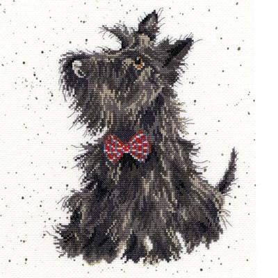 Borduurpakket hond - Scottie