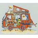 Borduurpakket vakantie  - VW bus - camper