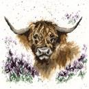 Borduurpakket dieren - Highland Heathers