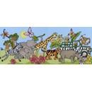 Borduurpakket dieren - Safari fun - BTXJR24