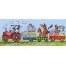 Borduurpakket dieren - old Mcdonald fun - BTXJR02
