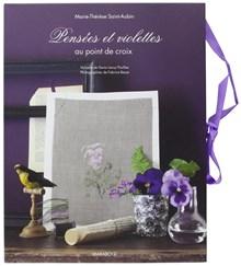 Pensees et violettes au point de srox