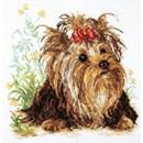 Borduurpakket hond - Yorkshire terrier