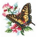 Borduurpakket dieren - Swallowtail butterfly
