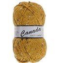 Lammy Yarns Canada tweed 490 oker geel