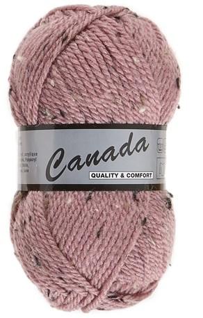 Lammy Yarns Canada tweed 485 oud roze