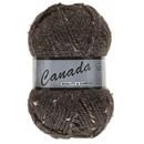 Lammy Yarns Canada tweed 430 donker bruin