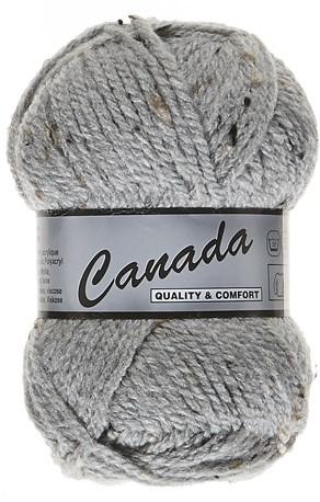 Lammy Yarns Canada tweed 420 licht grijs
