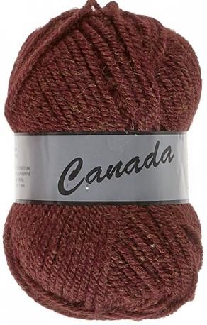 Lammy Yarns Canada 110 bruin/rood