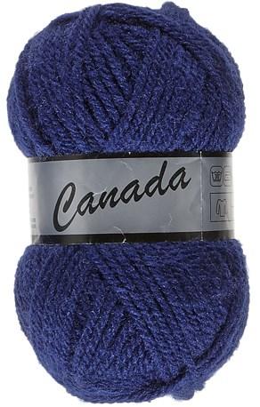 Lammy Yarns Canada 860 donker jeans blauw