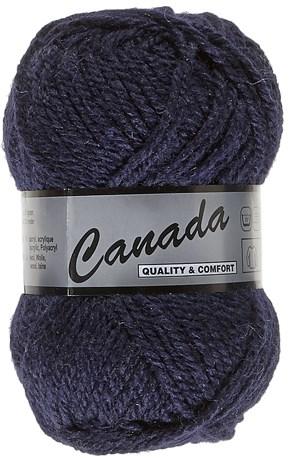 Lammy Yarns Canada 890 marine blauw