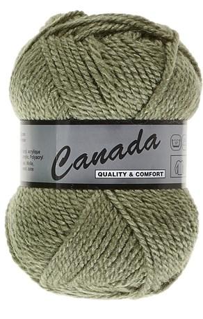 Lammy Yarns Canada 076 oud linde groen