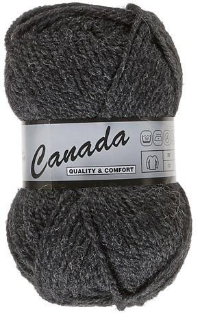 Lammy Yarns Canada 002 donker grijs
