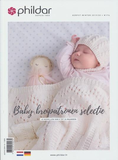 Phildar nr 174 herfst winter 2019-2020 45 baby breipatronen selectie