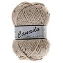Lammy Yarns Canada tweed 410 licht bruin (begin okt)