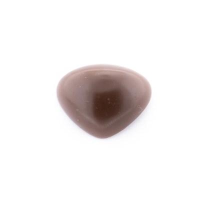 Neus 18 mm bruin soft 2 stuks
