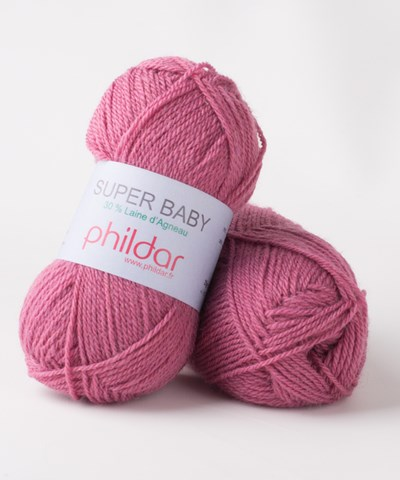 Phildar Super Baby Lie de vin