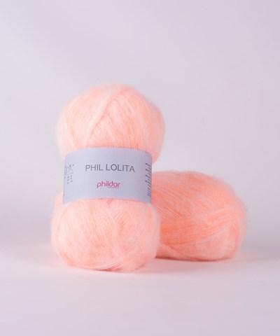 Phildar Phil Lolita Orange Fluo