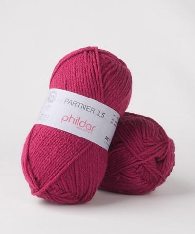 Phildar Phil Partner 3,5 Framboise