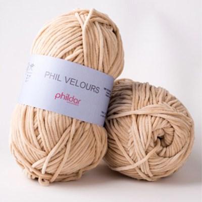 Phildar Phil Velours Biche op=op